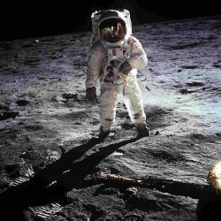 Ein Bild von einem Astronauten